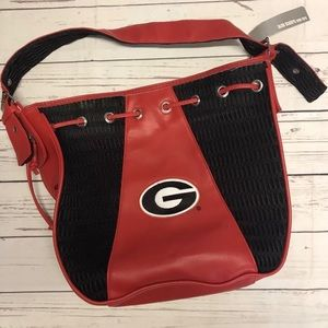 Alan Stuart licensed Georgia Bulldogs purse bag